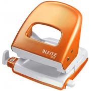 Děrovač LEITZ 5008 metalika  Oranžová 10-44 Max.30listů - klikněte pro více informací